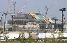 愛媛県武道館建設工事