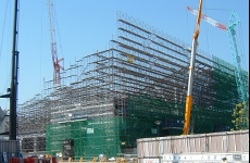 松山中央公園プール建設工事